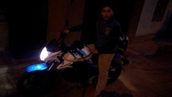 Remato Suzuki Gixxer Blanco Con Azul - Negociable