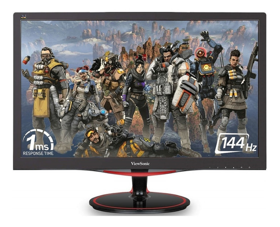Monitor 24 Gamer Led Viewsonic Vx2458 144hz 1ms Dp Hdmi Fhd