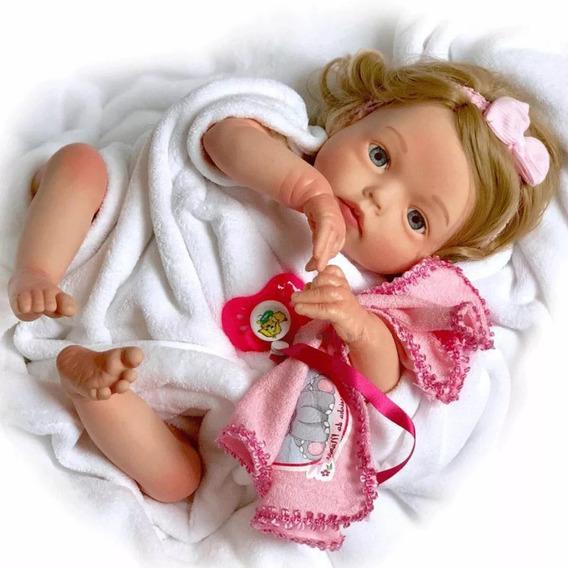 Boneca Bebe Reborn Promoção A Mais Barata Yasmin Sid-nyl