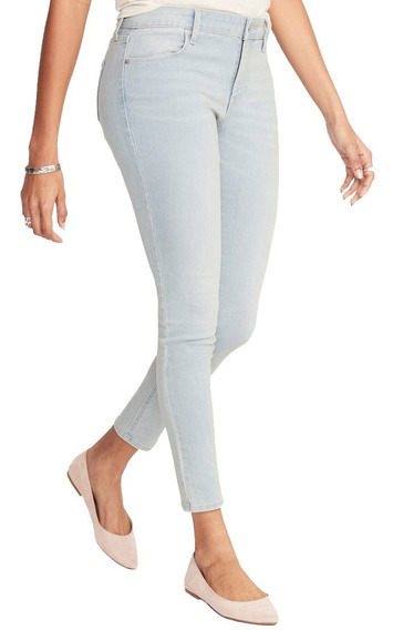 Jeans Dama Pantalón Mezclilla Mujer Skinny 391407 Old Navy