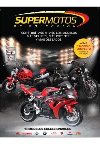 Super Motos De Coleccion N°5 - Ducati Diavel Carbon
