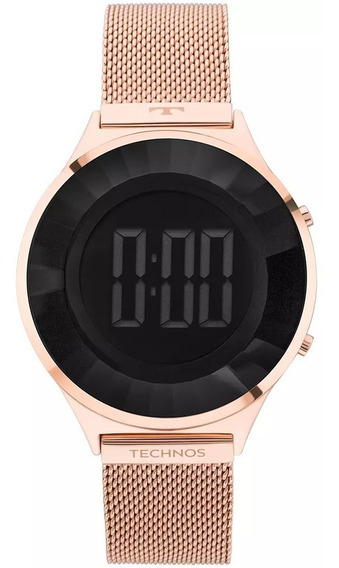 Relógio Technos Crystal Feminino Bj3851af/4p