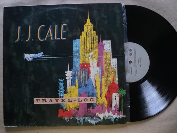 Lp J.j. Cale- Travel Log- 1989- Original- Frete 15,00