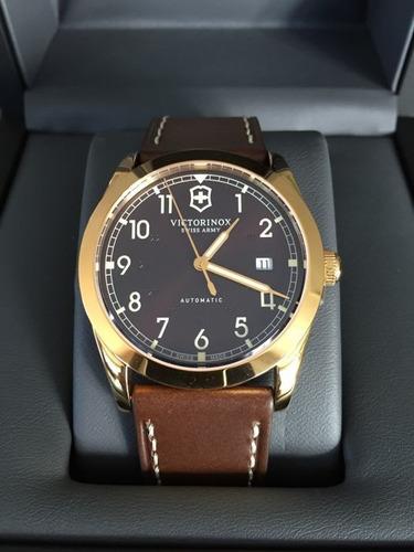 Reloj Suizo Automatico Eta 2824 Victorinox Infantry Sin Uso