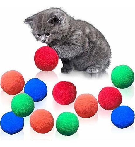 Juguetes Para Gatos Pelotas De Juguete Para Gatos Peludos, M