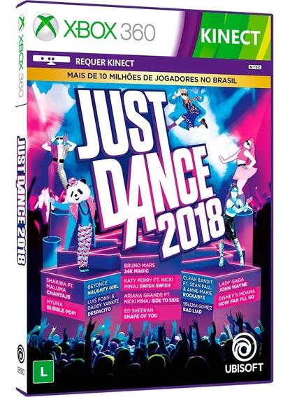 Just Dance 2018 Xbox 360 Novo Mídia Física Lacrado Português