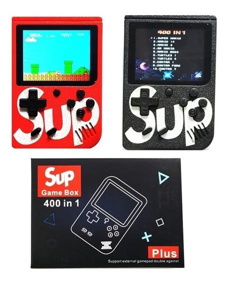 Vídeo Game Boy Sup Portátil 400 In 1 300 Jogos Clássico