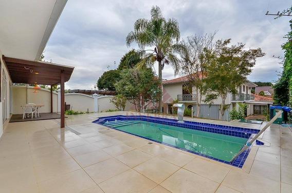 Casa Com 4 Dormitórios À Venda, 478 M² Por R$ 2.180.000,00 - Vista Alegre - Curitiba/pr - Ca0125