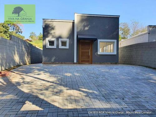 Imagem 1 de 30 de Casa À Venda, 193 M² Por R$ 900.000,00 - Granja Viana - Cotia/sp - Ca1875