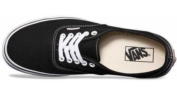Vans Authentic Black (tiene Detalles De Terminación) 36,5 Ar