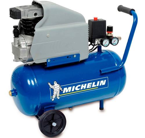 Imagen 1 de 4 de Compresor Michelin 24 Lts 2 Hp Monofásico G P