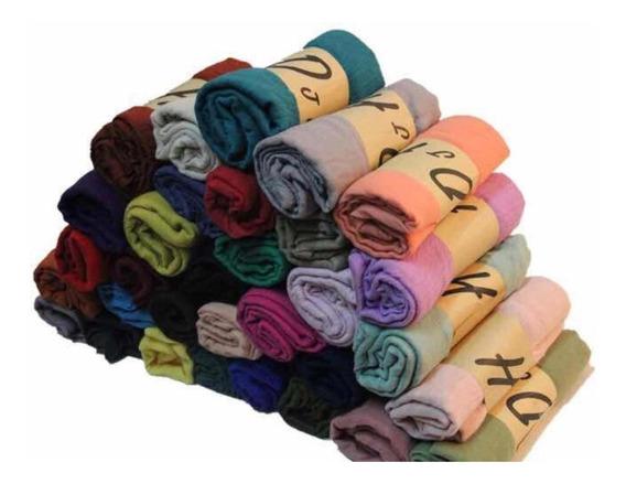 10 Pashmina Colores Surtidos