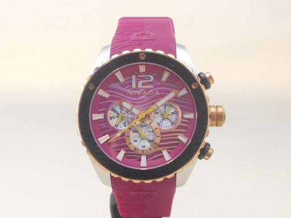 Reloj Nivada Np15204l Multifunciòn Totalmente Original