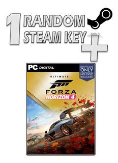 1 Steam Random Key + Forza Horizon 4: Ultimate Edition+dlc