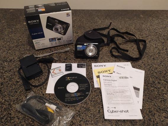 Câmera Digital Sony Cyber Shot Dsc W310 Kit Completo!