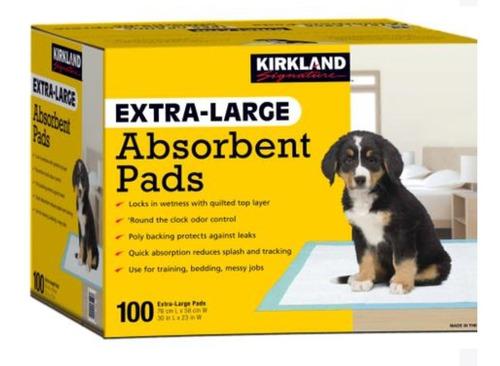 Tapete Higienico Para Mascotas  100pk 76 Cm X 58 Cm
