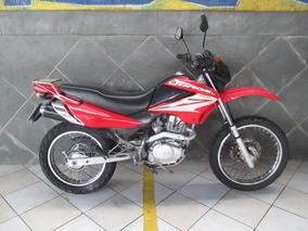 Honda Nxe 150 Bros Esd Vermelha 2008