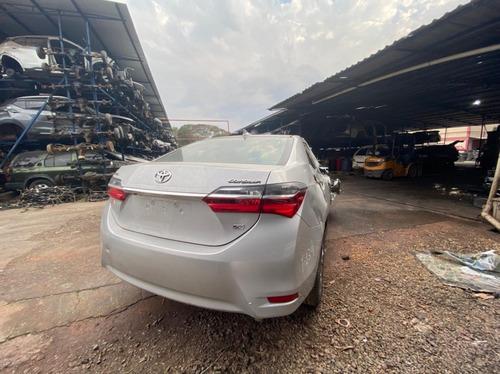 Imagem 1 de 5 de Sucata Toyota Corolla 2019 Flex
