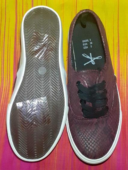 Zapatillas Reptil Importadas H&m 36