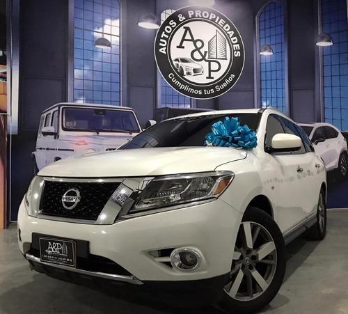 ¡ Nissan Pathfinder Exclusive 4wd 2015 !