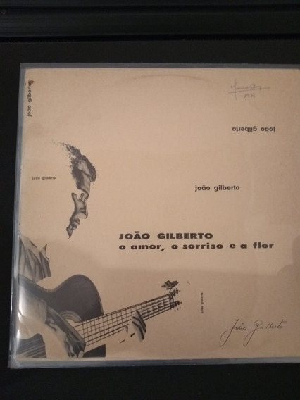 Lp João Gilberto O Amor, O Sorriso E A Flor
