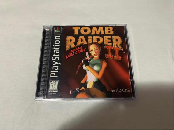 Tomb Raider 2 Ps1 Original Americano