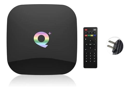 Imagen 1 de 6 de Q Plus Smart Tv Box Android 9.0 Allwinner H6 4gb/32gb 6k