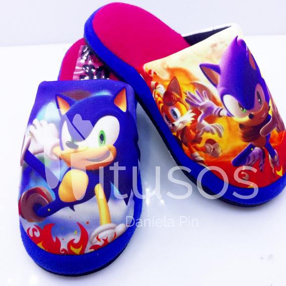 Pantuflas Sonic