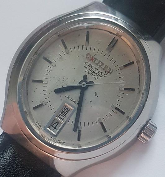 Relógio Vintage Citizen Leopard