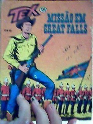 Revista Tex Nº131 Missão Em Great Falls Vários