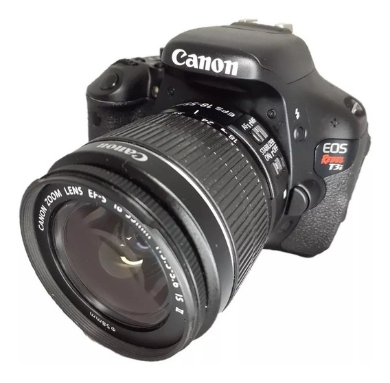 Canon Eos T3i+18-55mm+55-200mm+ Filtro Uv, Leia A Descrição