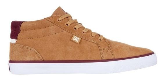 Tênis Dc Shoes Council Mid Tan