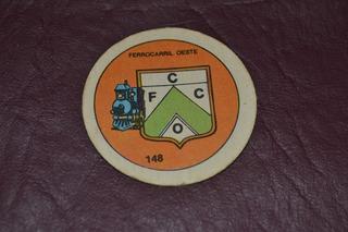 Figurita Ferrocarril Oeste 148 Walt Disney Futbol Album 1977