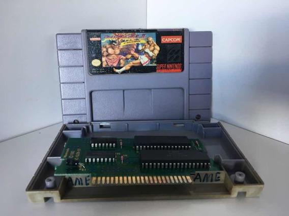 Jogo Super Street Fighter 100% Original Super Nintendo Snes