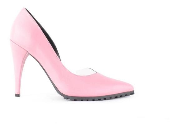 Zapatos Stilettto De Cuero Taco Alto Mujer Nina - Ferraro -