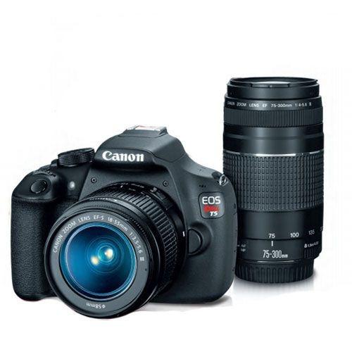 Canon Eos Rebel T5 + 2 Lentes + Acccesorios