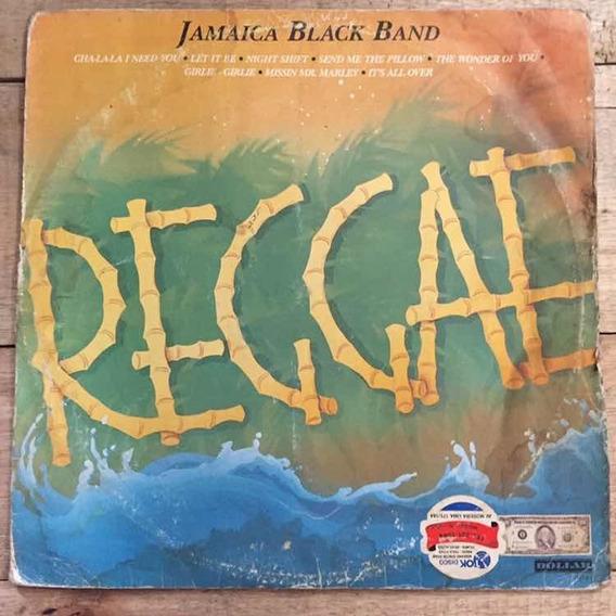 Lp Jamaica Black Band Reggae 1987