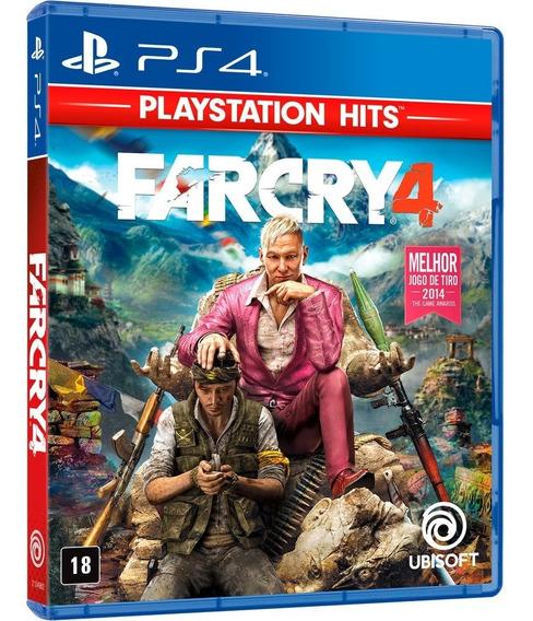 Far Cry 4 - Dublado Ptbr - Midia Fisica Original Lacrado Ps4