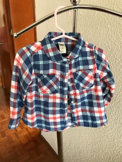 Camisa Niña Azul Cuadros, Vestido De Lana, Pantalón Flores