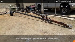 Trailer Para Lancha Peñero 30