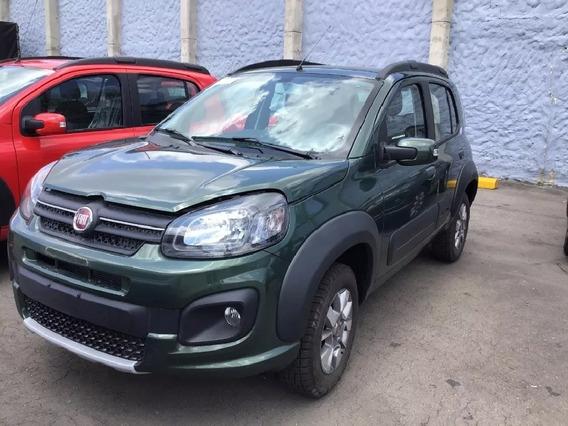 Fiat Uno Way 1.4 2020 Verde Amazon