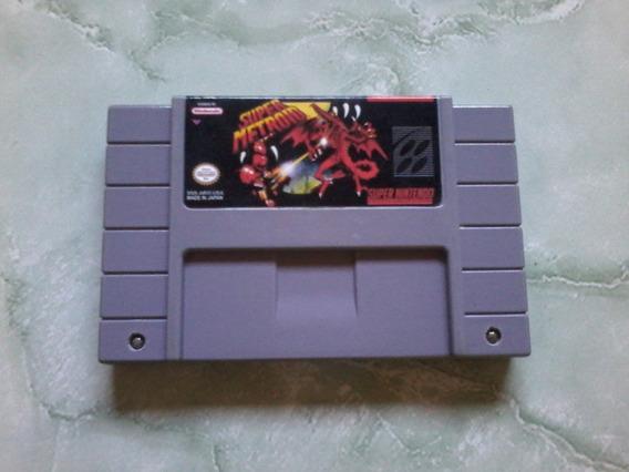 Super Metroid Snes Original Relabel