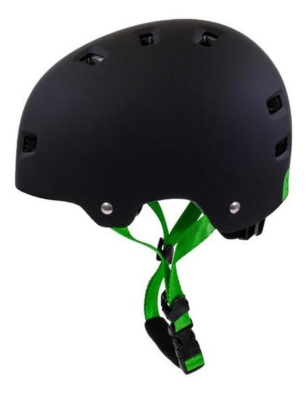 Casco Serfas Bucket Negro Verde