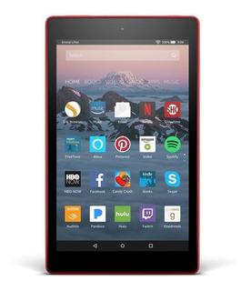 "Tablet Amazon Fire HD 8 KFKAWI 8"" 32GB punch red con memoria RAM 1.5GB"