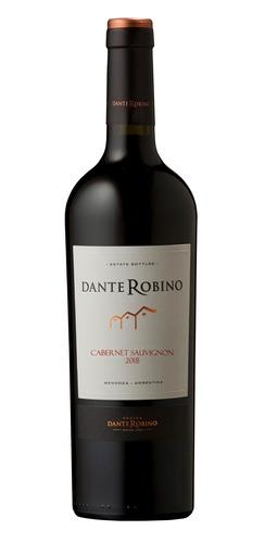 Imagen 1 de 1 de Vino tinto Cabernet sauvignon Dante bodega D. Robino 750ml