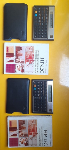 Calculadoras Hp 12c Gold