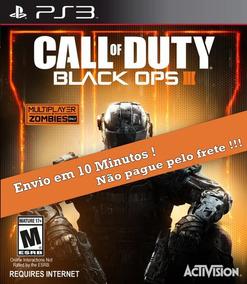 Call Of Duty Black Ops 3 + |bo1 Brinde| Ps3 Envio Digital