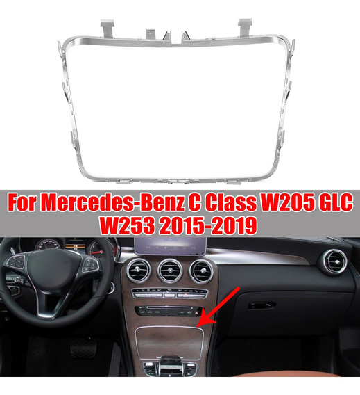 W253 W205 Car Water Cup Titular Tira Plating Cinzeiro Guarni
