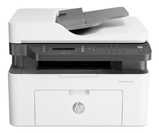 Impresora multifunción HP LaserJet 137FNW con wifi 110V blanca y negra