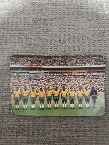 Antigo Calendário De 1972 Da Seleção Brasileira.